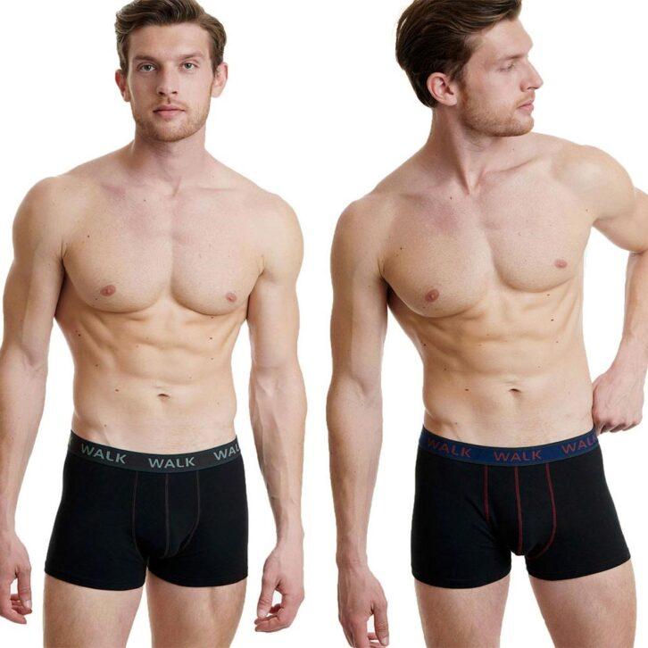 Ανδρικό Boxer Walk 2-pack W1756-0202 Μαύρο