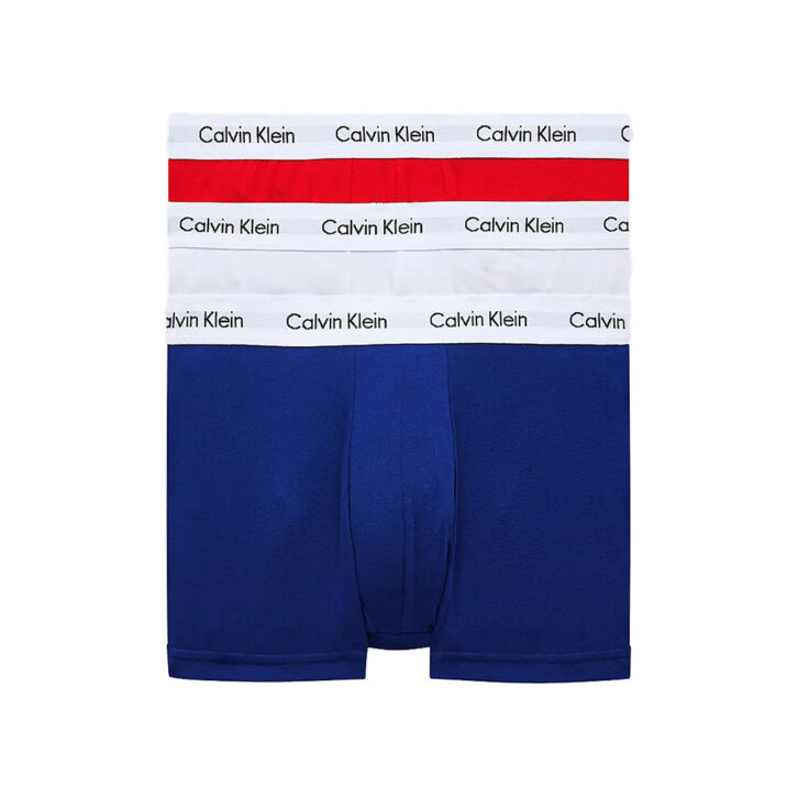 Ανδρικό Boxer Cotton Stretch Calvin Klein 3-pack 0000U2664G-I03 Πολύχρωμο