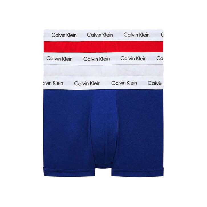 Ανδρικό Boxer Cotton Stretch Calvin Klein 3-pack 0000U2664G-I03 Πολύχρωμο