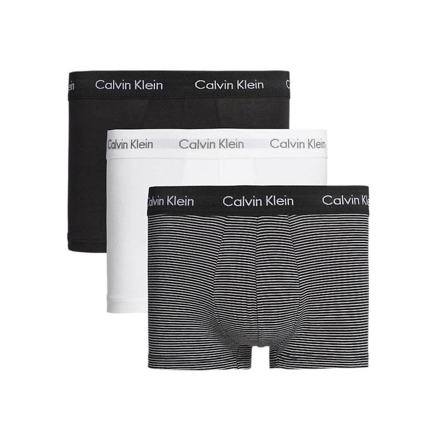 Ανδρικό Boxer Cotton Stretch Calvin Klein 3-pack 0000U2664G-IOT Πολύχρωμο