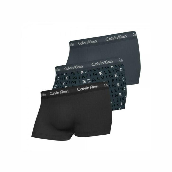 Ανδρικό Boxer Cotton Stretch 3pack Calvin Klein 0000U2664G-PIT Πολύχρωμο