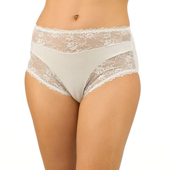 Γυναικείο Βαμβακερό Slip FrouFrou 6002_white Λευκό