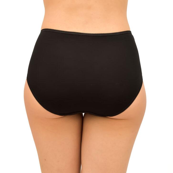 Γυναικείο Βαμβακερό Slip FrouFrou 6002_black Μαύρο