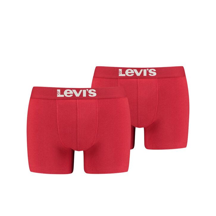 Ανδρικό Boxer 2pack Levi's 905001001-186 Κόκκινο