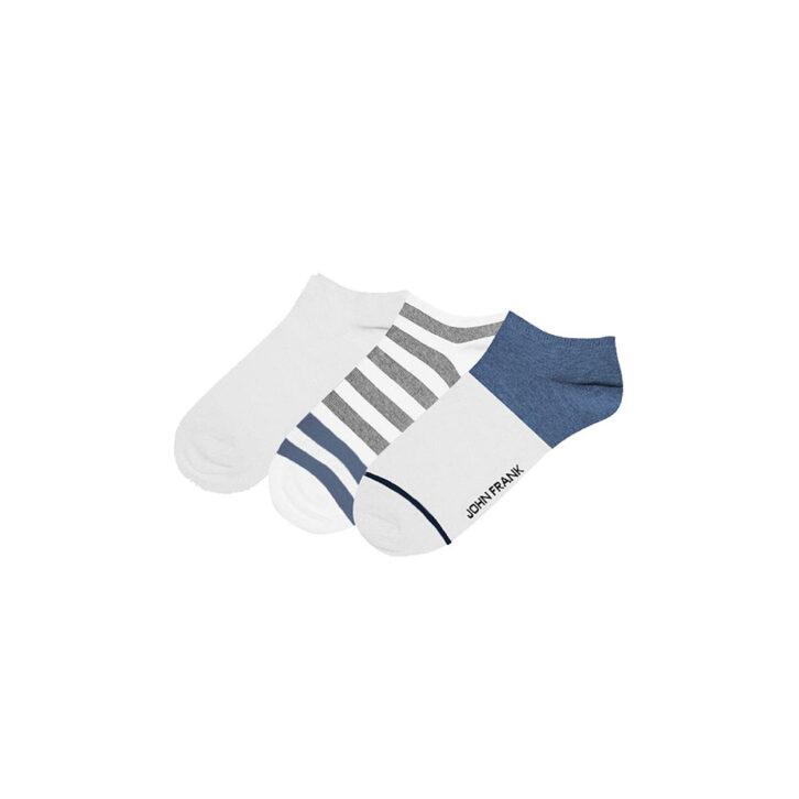 Ανδρικές Χαμηλές Κάλτσες John Frank 3pack JF3SS20S13 Πολύχρωμο