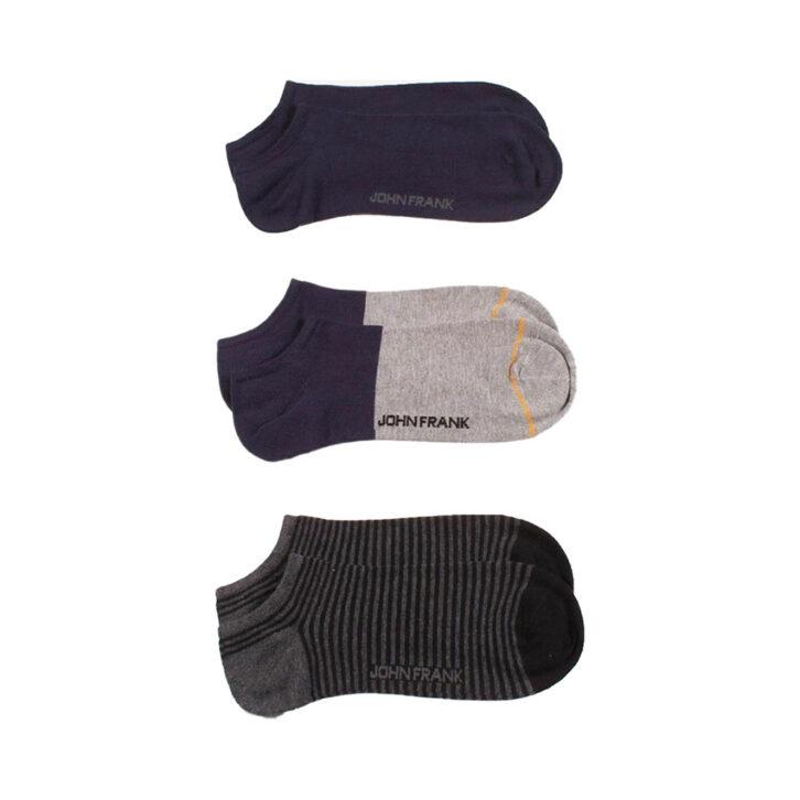 Ανδρικές Χαμηλές Κάλτσες John Frank 3pack JF3SS20S26 Πολύχρωμο