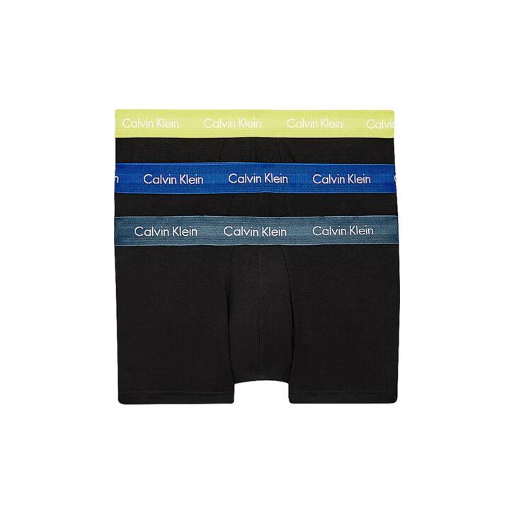 Ανδρικό Boxer Cotton Stretch 3pack Calvin Klein 0000U2664G-MC0 Μαύρο