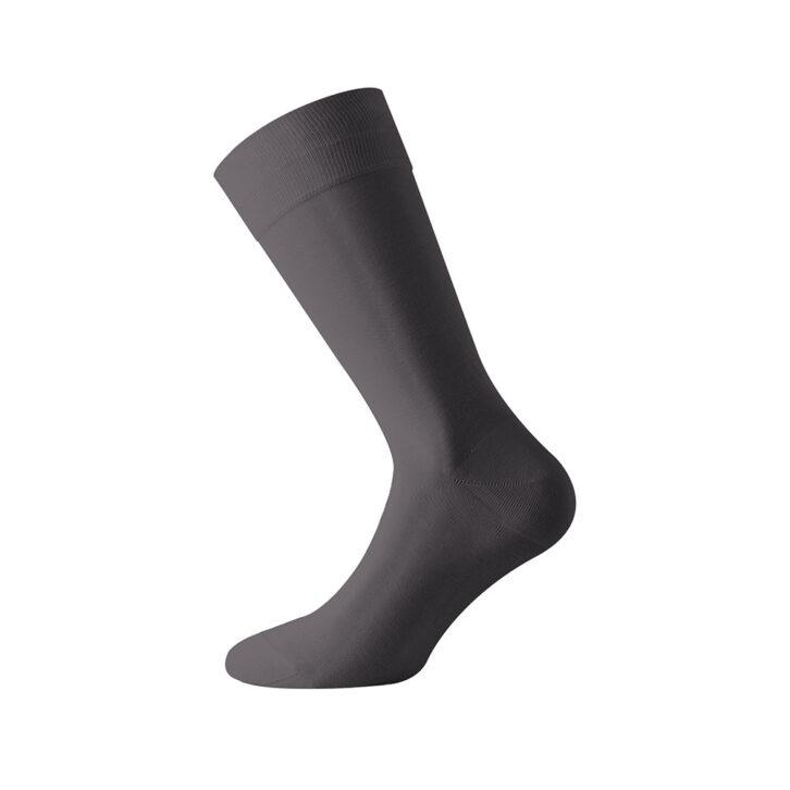 Ανδρικές Μερσεριζέ Βαμβακερές Κάλτσες Walk W107-08 Ανθρακί