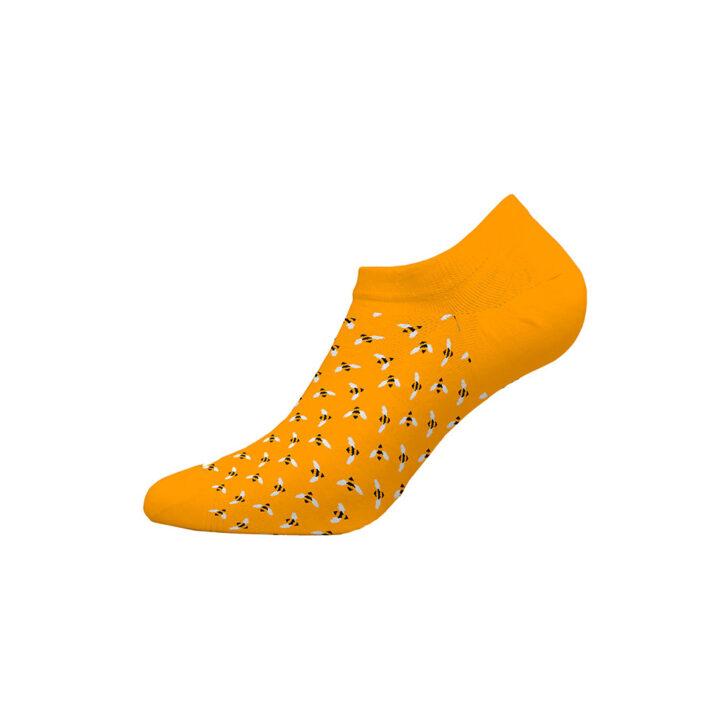 Γυναικεία Χαμηλή Κάλτσα Bamboo Walk W335-4-33 Κίτρινο
