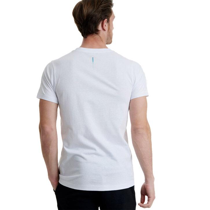 Ανδρικό T-Shirt με Τύπωμα Walk W5200-5-01 Λευκό