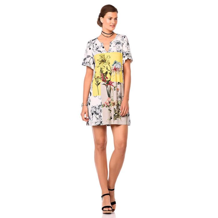 Γυναικείο Φόρεμα Θαλάσσης Vamp 00-10-6941 Πολύχρωμο