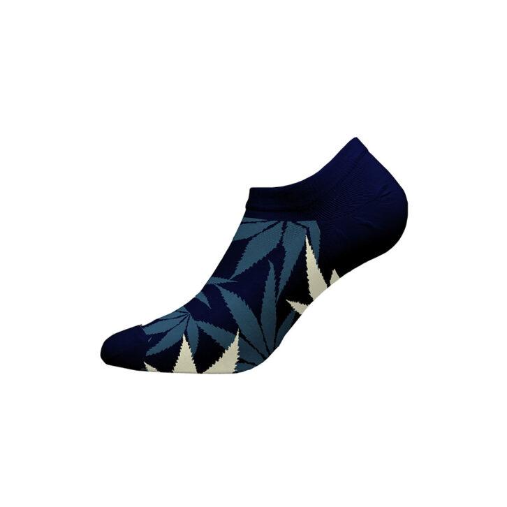 Ανδρικές Χαμηλές Κάλτσες Walk Bamboo W325-1-75 Μπλε Σκούρο