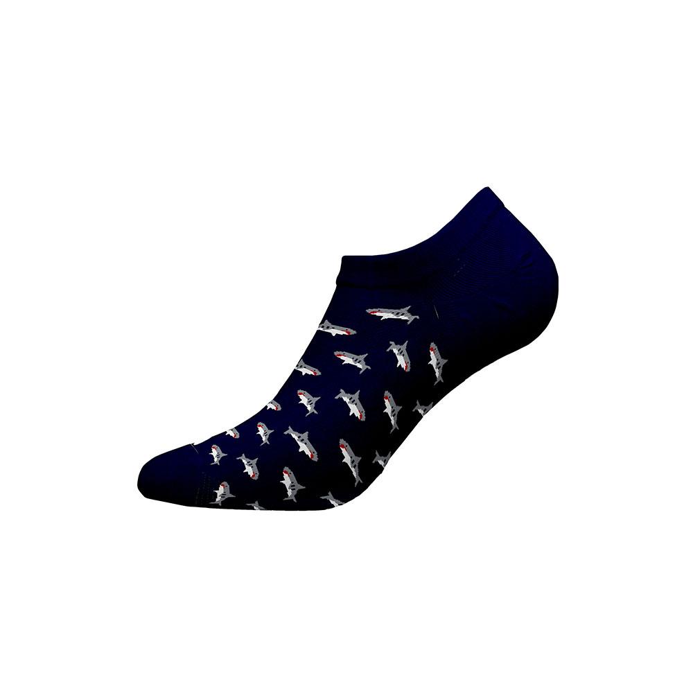 Ανδρικές Χαμηλές Κάλτσες Walk Bamboo W325-3-75 Μπλε Σκούρο