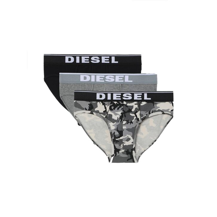 Ανδρικό Slip Cotton Stretch Diesel 3-pack 00SH05-0WBAE-E5359 Πολύχρωμο