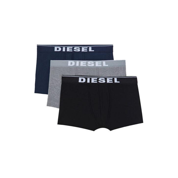 Ανδρικό Boxer Cotton Stretch Diesel 3-pack 00ST3V-0JKKB-E4125 Πολύχρωμο