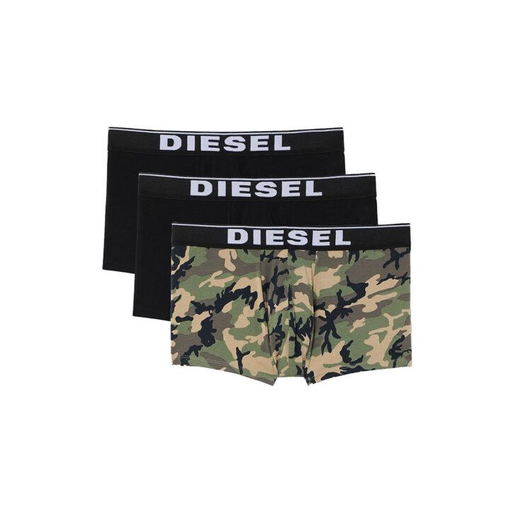 Ανδρικό Boxer Cotton Stretch Diesel 3-pack 00ST3V-0WBAE-E4869 Πολύχρωμο