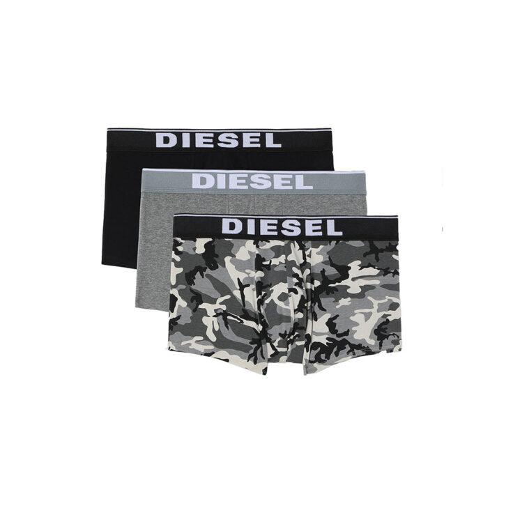 Ανδρικό Boxer Cotton Stretch Diesel 3-pack 00ST3V-0WBAE-E5359 Πολύχρωμο