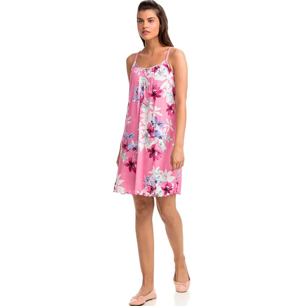 Γυναικείο Νυχτικό με Τιράντα Vamp 14159 Ροζ