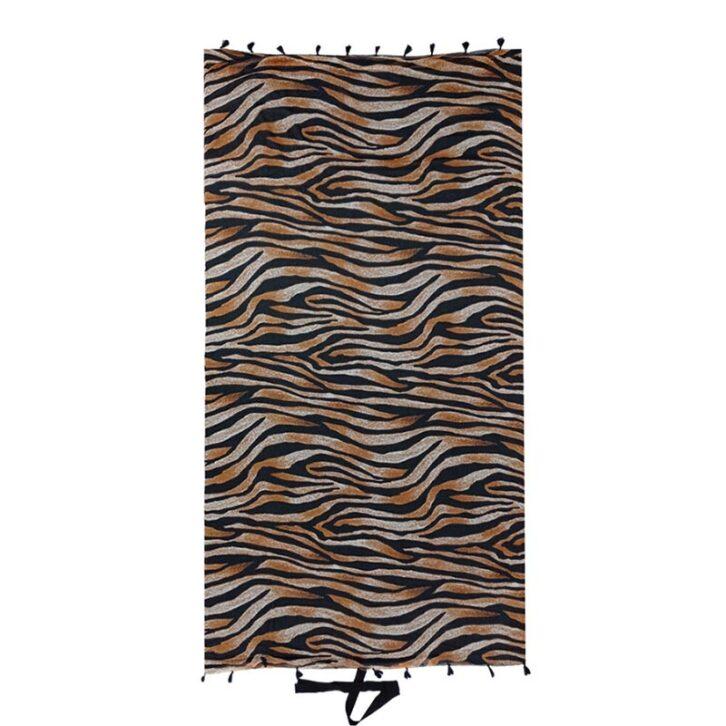 Πετσέτα Θαλάσσης Διπλής Όψης 180x100cm Bluepoint 2108604-19 Καφέ