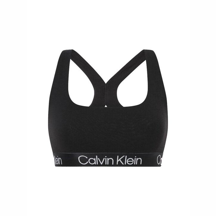 Γυναικείο Bralette Calvin Klein 000QF6684E-UBI Μαύρο