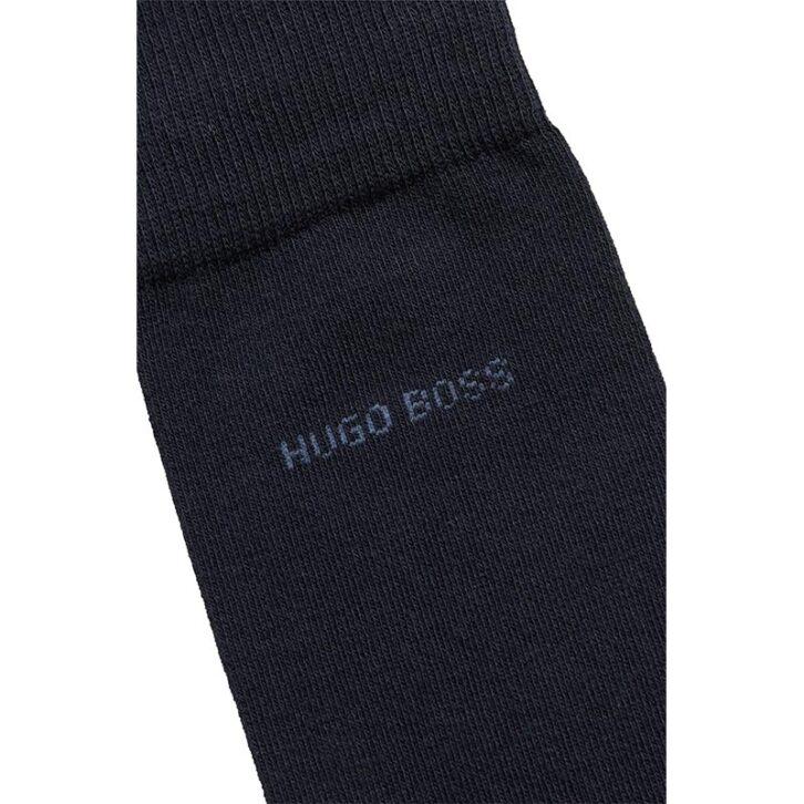 Ανδρικές Βαμβακερές Κάλτσες 2-pack HUGO BOSS 50451871-510 Μπλε Μπορντό