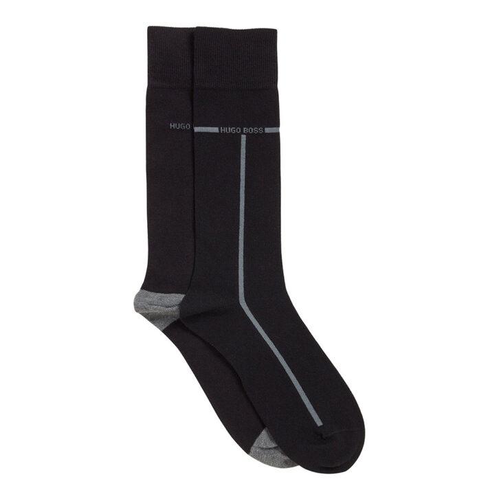 Ανδρικές Βαμβακερές Κάλτσες 2-pack HUGO BOSS 50452810-001 Μαύρο