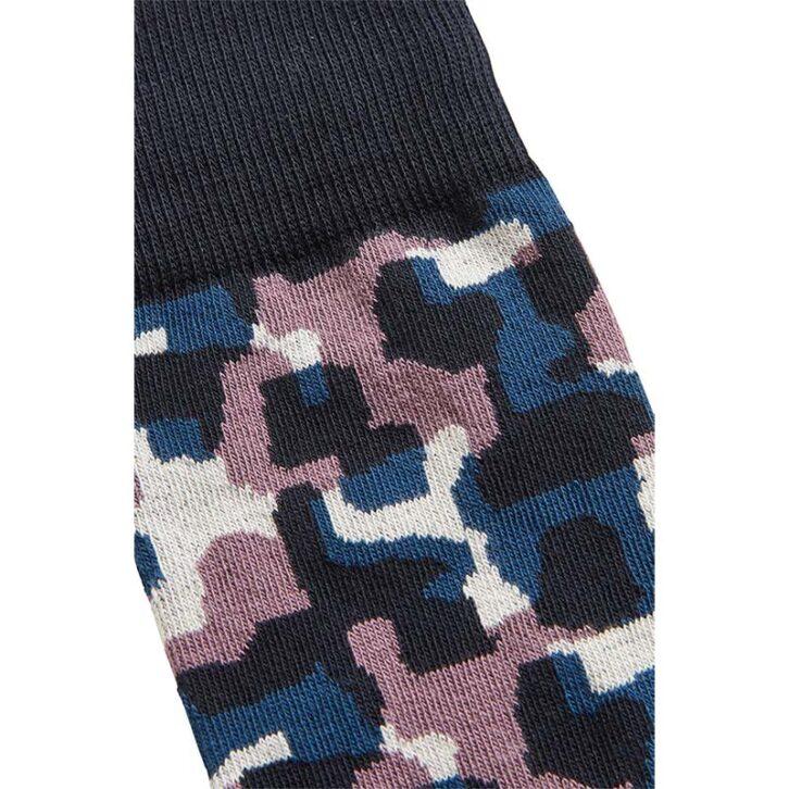Ανδρικές Βαμβακερές Κάλτσες HUGO BOSS 50457762-401 Πολύχρωμο