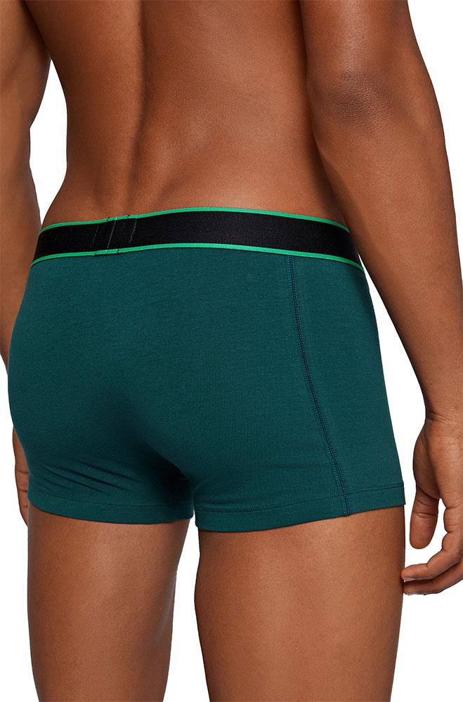 Ανδρικό Boxer Cotton Stretch BOSS 50458016-304 Πράσινο