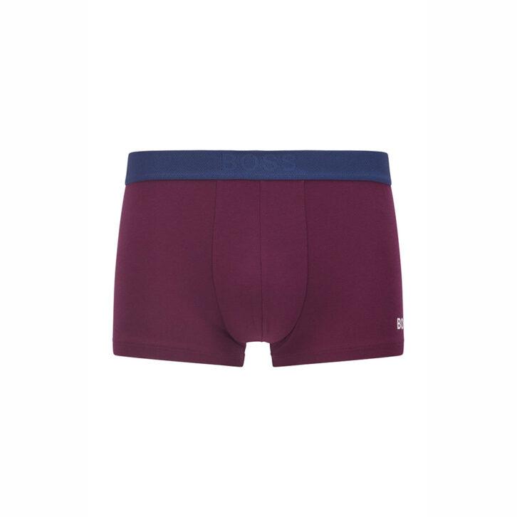 Ανδρικό Boxer Cotton Modal Stretch HUGO BOSS 50459931-501 Μωβ