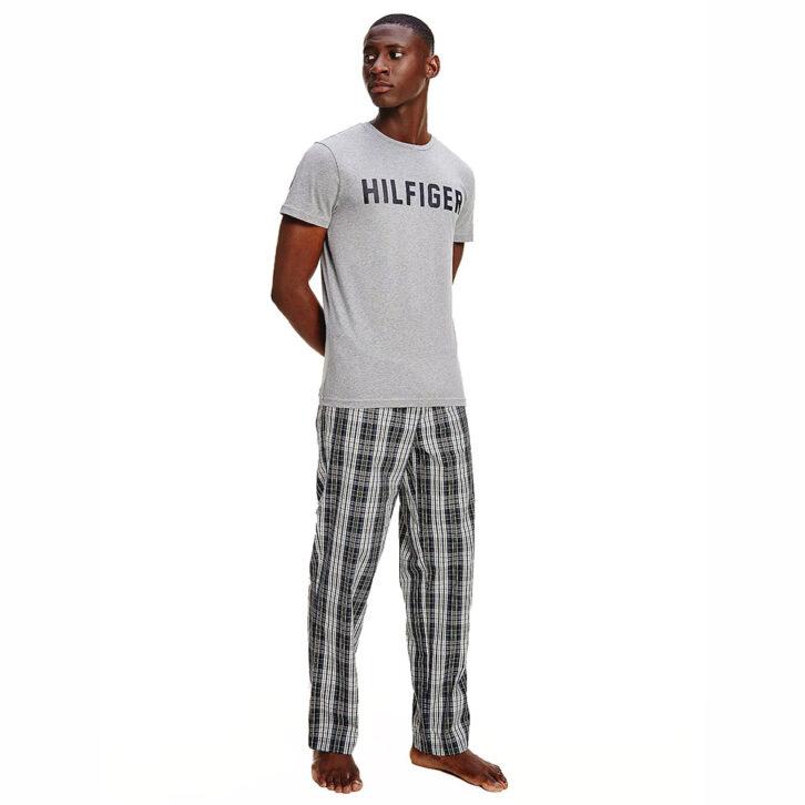 Ανδρικό T-Shirt Homewear Tommy Hilfiger UM0UM02011-PG5 Γκρι
