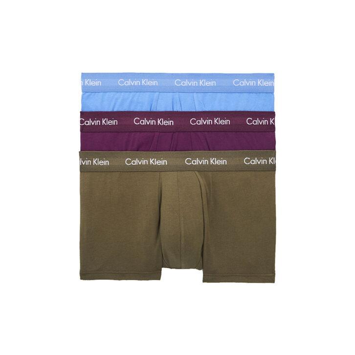 Ανδρικό Boxer Cotton Stretch 3pack Calvin Klein 0000U2664G-WHF Πολύχρωμο