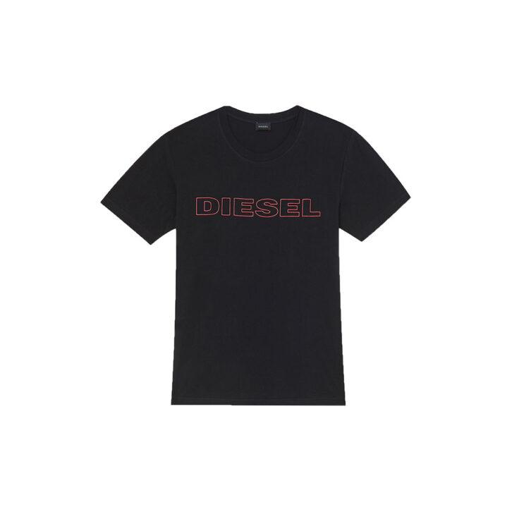 Ανδρικό T-Shirt UMLT-JAKE Diesel 00CG46-0DARX-900 Μαύρο