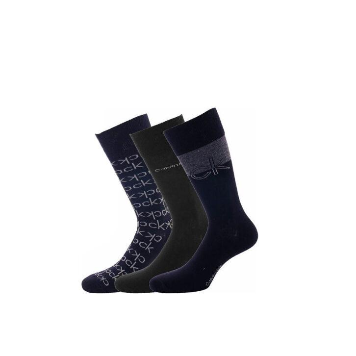 Ανδρικές Κάλτσες 3pack Giftbox Calvin Klein 100004543-003 Μπλε Σκούρο