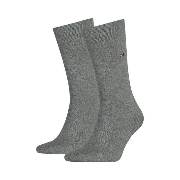 Ανδρικές Κάλτσες 2pack Tommy Hilfiger 371111-758 Γκρι Μελανζέ