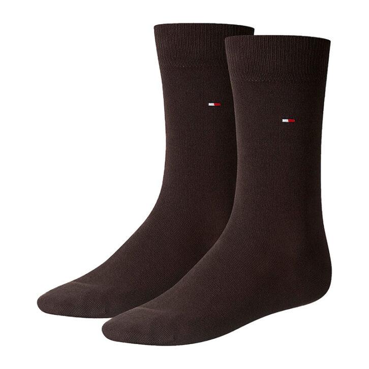 Ανδρικές Κάλτσες 2pack Tommy Hilfiger 371111-937 Καφέ