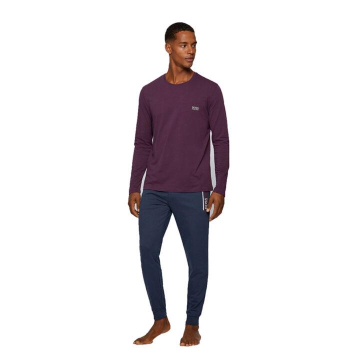 Ανδρική Μακρυμάνικη Μπλούζα HUGO BOSS 50379006-502 Μωβ