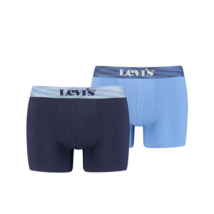 Ανδρικό Boxer Brief 2pack Levi's 701203906-001 Γαλάζιο Μπλε Σκούρο