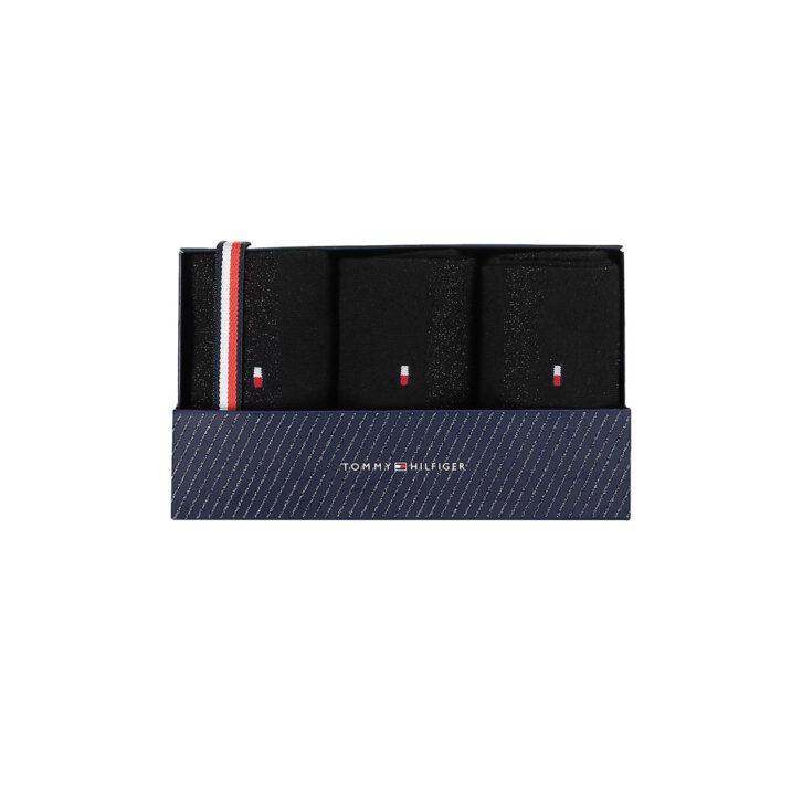 Γυναικείες Κάλτσες 3pack Gift Box Tommy Hilfiger 701210532-001 Μαύρο