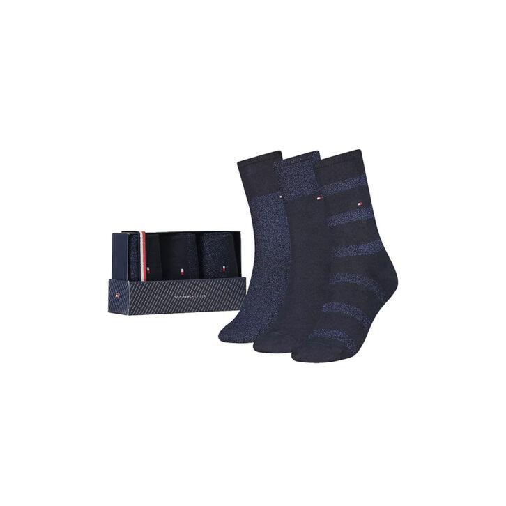 Γυναικείες Κάλτσες 3pack Gift Box Tommy Hilfiger 701210532-002 Μπλε Σκούρο