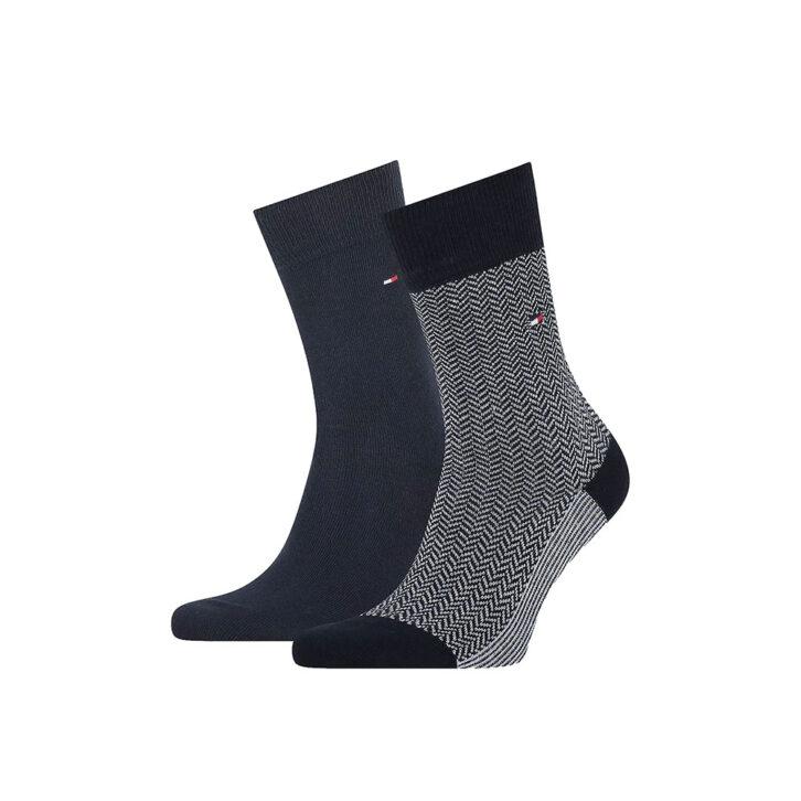 Ανδρικές Κάλτσες 2pack Tommy Hilfiger 701210534-001 Μπλε Σκούρο