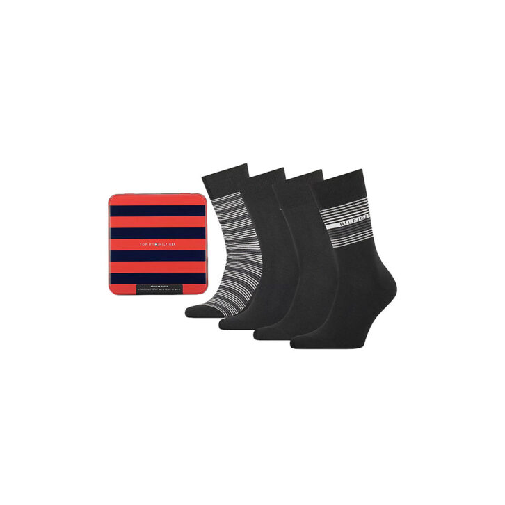 Ανδρικές Κάλτσες 4pack Gift Box Tommy Hilfiger 701210548-002 Μαύρο