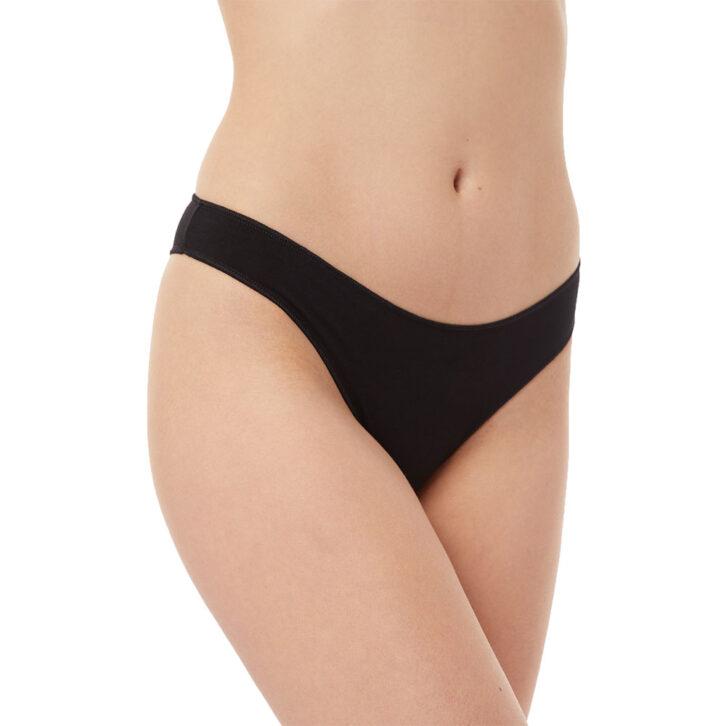 Γυναικείο Slip Brazilian Fimelle Invisible 2pack Minerva 81325-852 Μόκα Μαύρο