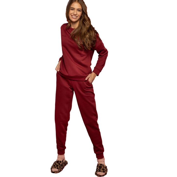 Γυναικείο Σετ Homewear Noidinotte FA7573PB Σάπιο Μήλο