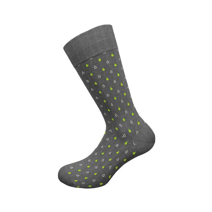 Ανδρική Βαμβακερή Κάλτσα Walk W1064-18_49 Γκρι