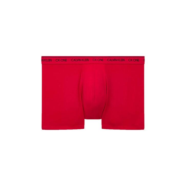 Ανδρικό Boxer Superstar Logo Print 2pack Calvin Klein 000NB2670A-V6L Μαύρο Κόκκινο