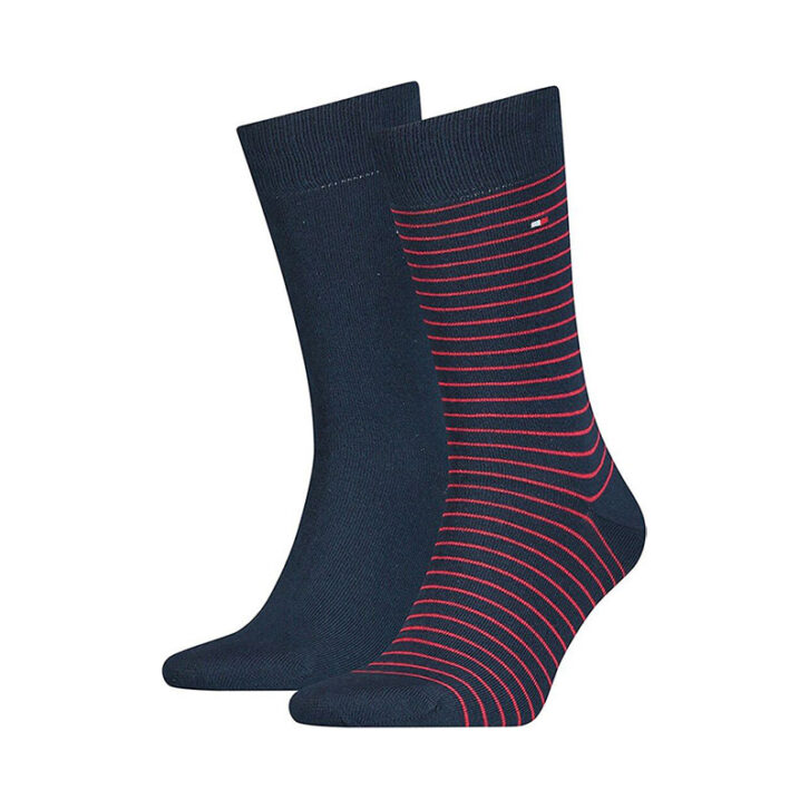 Ανδρικές Κάλτσες 2pack Tommy Hilfiger 100001496-085 Μπλε Σκούρο