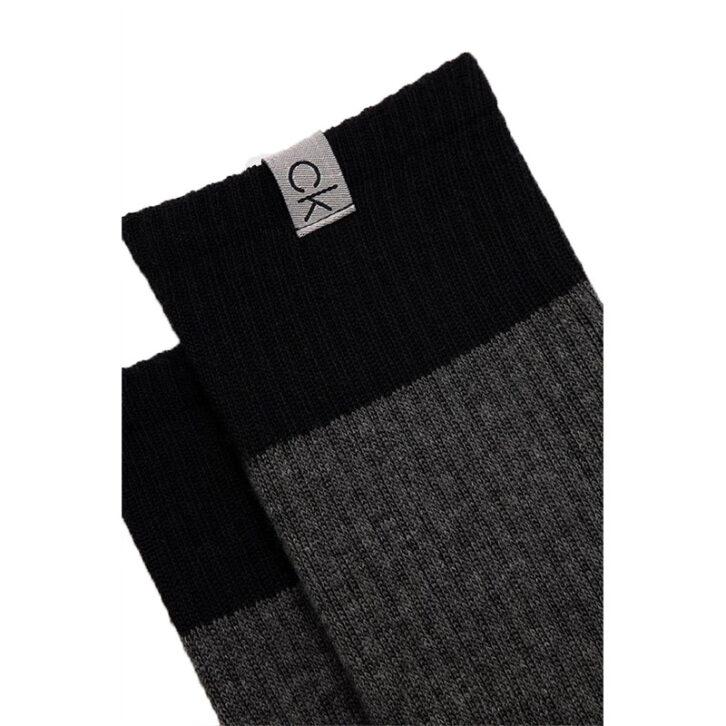 Ανδρικές Κάλτσες Colour Blocked Calvin Klein 100004512-001 Γκρι