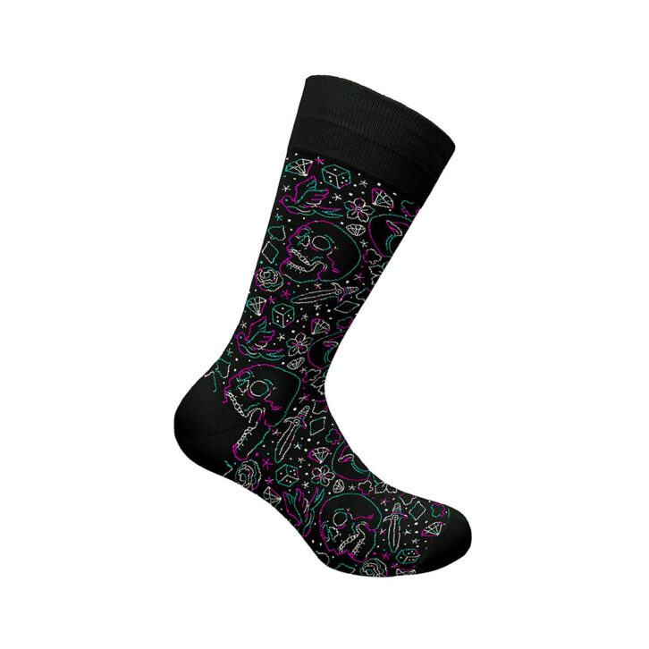 Ανδρική Κάλτσα Bamboo Walk W304-24_02 Μαύρο